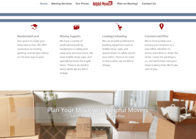 Website for Movers